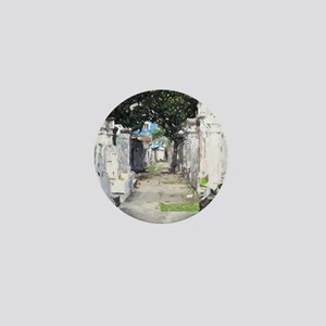 New Orleans Cemetary Mini Button