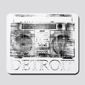 Detroit Ghetto Blaster Boombox Mousepad