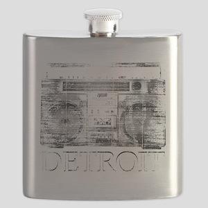 Detroit Ghetto Blaster Boombox Flask