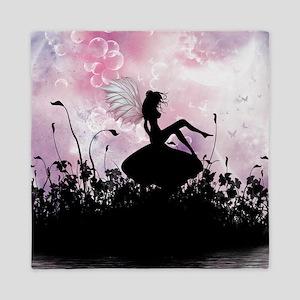 Fairy Silhouette Queen Duvet