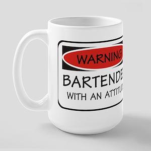 Attitude Bartender Large Mug