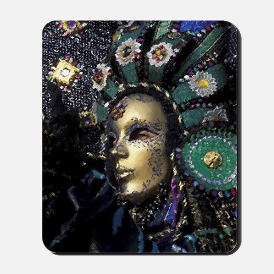 New Orleans Mardi Gras Mask Mousepad