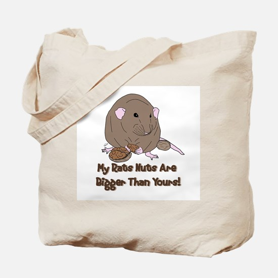 UK Mink Rat Nuts Tote Bag