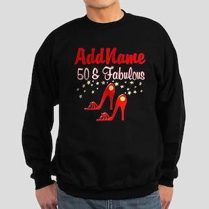 RED HOT 50TH Sweatshirt (dark)