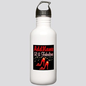 RED HOT 50TH Stainless Water Bottle 1.0L