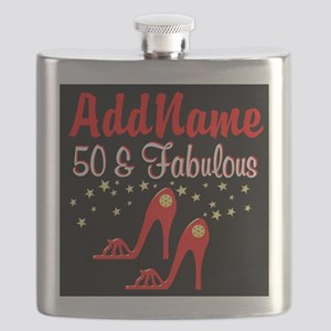 RED HOT 50TH Flask