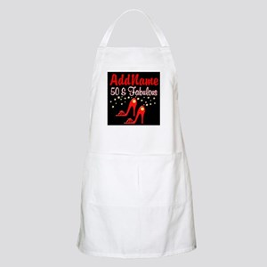 RED HOT 50TH Apron