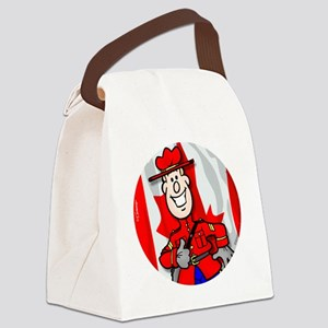 OH Canada Canvas Lunch Bag