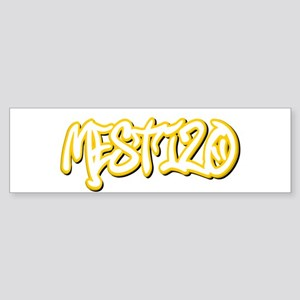 Mestizo Male Bumper Sticker