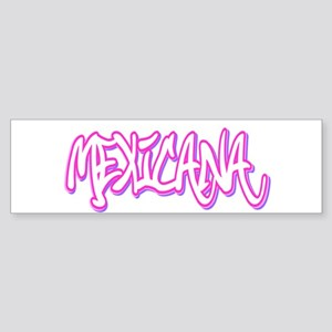 Mexicana Female Bumper Sticker