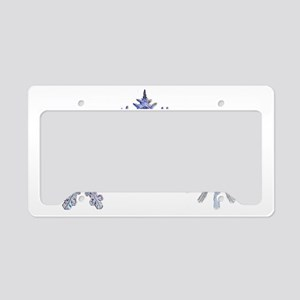 THE SNOWFLAKES License Plate Holder