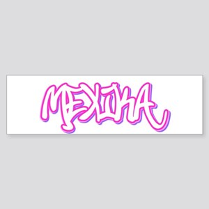 Mexika Female Bumper Sticker