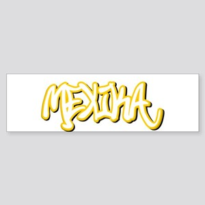 Mexika Male Bumper Sticker