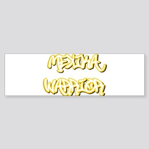Mexika Warrior Male Bumper Sticker