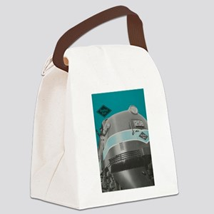 reading1 Canvas Lunch Bag