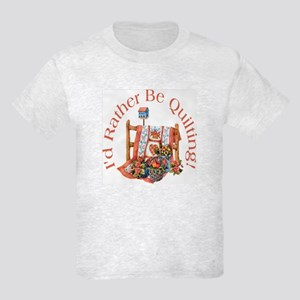 Rather Be Quilting Kids Light T-Shirt
