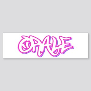 Orale Female Bumper Sticker
