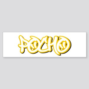 Pocho Male Bumper Sticker
