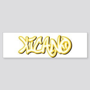 Xicano Male Bumper Sticker