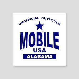 Mobile Rectangle Sticker
