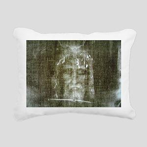 shroud Rectangular Canvas Pillow