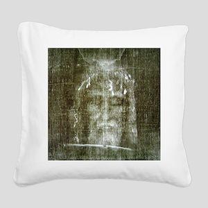 shroud Square Canvas Pillow