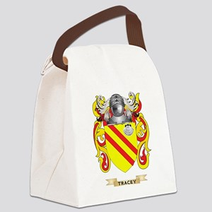 Tracey Family Crest (Coat of Arms Canvas Lunch Bag
