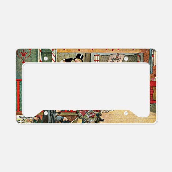Carl Larsson artwork: A Day o License Plate Holder