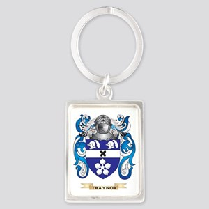 Traynor Family Crest (Coat of Ar Portrait Keychain