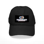 Patriotic Style Black Kickem Cap