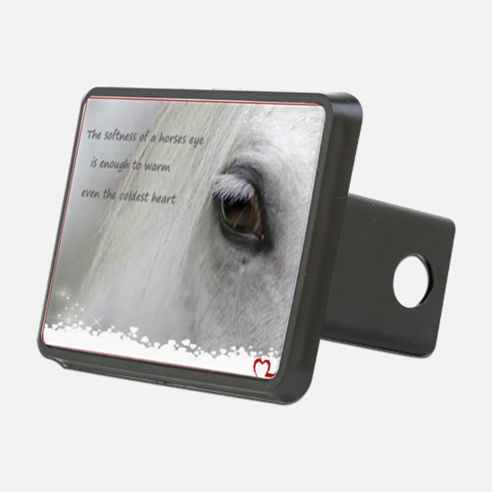 The softness of a horses e Hitch Cover
