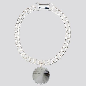 The softness of a horses Charm Bracelet, One Charm