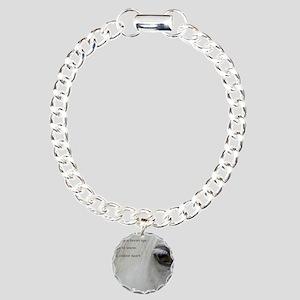 The softness of a horses Charm Bracelet, One Charm