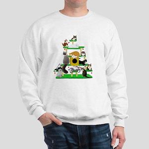 Christmas Cat Tree Sweatshirt