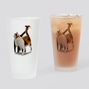 Kitty Cat Friends Drinking Glass