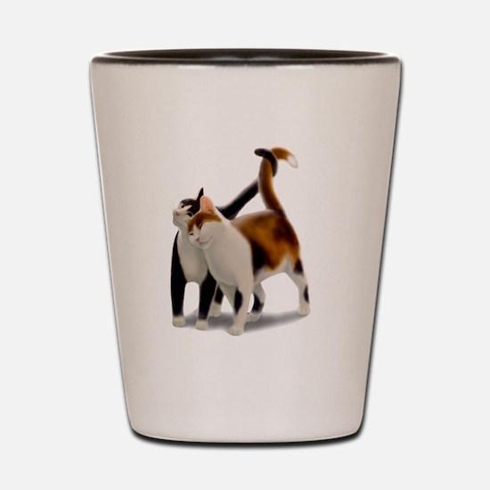 Kitty Cat Friends Shot Glass