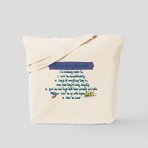 A Grandparent's Job Tote Bag
