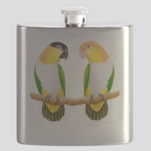 Caique Parrot Love Flask