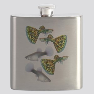 Snakeskin Cobra Guppy Fish Flask