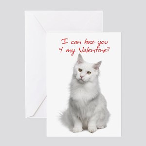 Cute Cat Valentine Cards