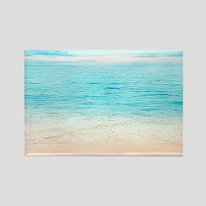 Beautiful Beach Rectangle Magnet
