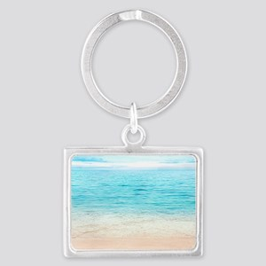 Beautiful Beach Landscape Keychain