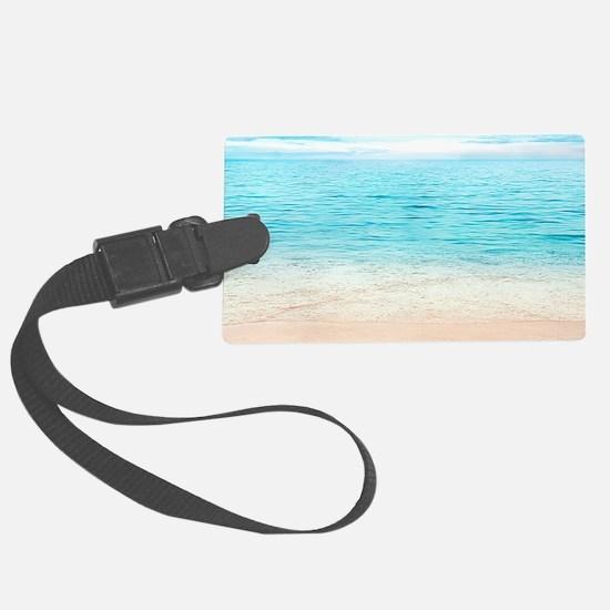 Beautiful Beach Luggage Tag