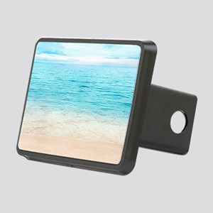 Beautiful Beach Rectangular Hitch Cover