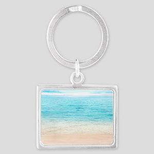 Beautiful Beach Landscape Keychain