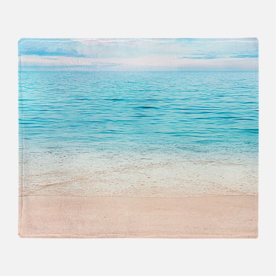 Beautiful Beach Throw Blanket