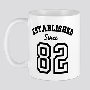 Established Since 1982 Mug