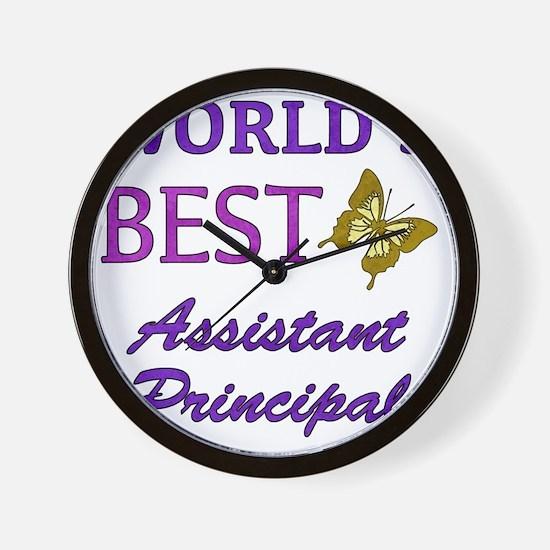 Worlds Best Assistant Principal (Butter Wall Clock