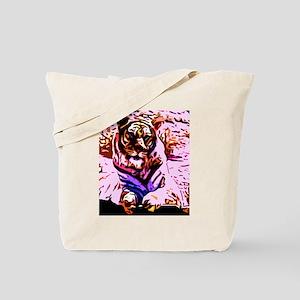 Pop tiger Tote Bag