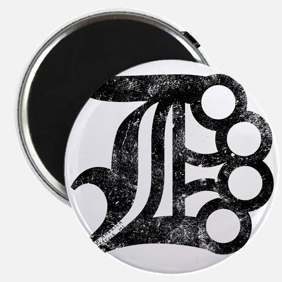 Detroit D Brass Knuckles Magnet